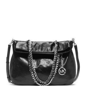 Michael Kors Bags - Michael Kors Lacey Large Fold Over Leather Tote